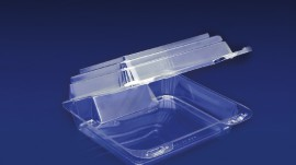 CBC-88S<br></br> ClearBoost 7″ PET Slanted Container
